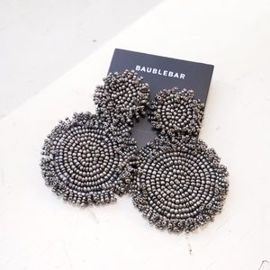 Baublebar Rianne Drop Earrings in Gray